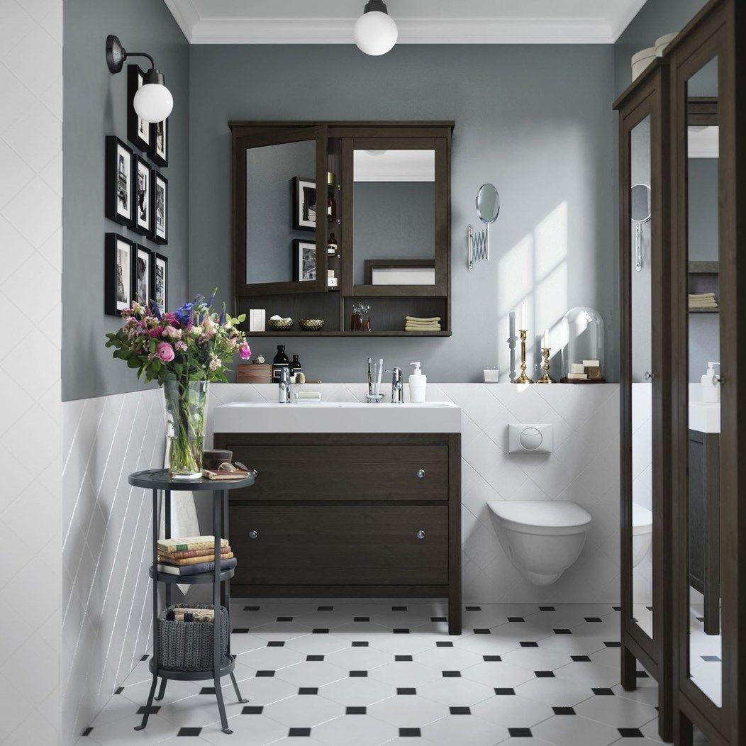 łazienka Styl Tradycyjny Zdjęcie Od Ikea łazienka Styl