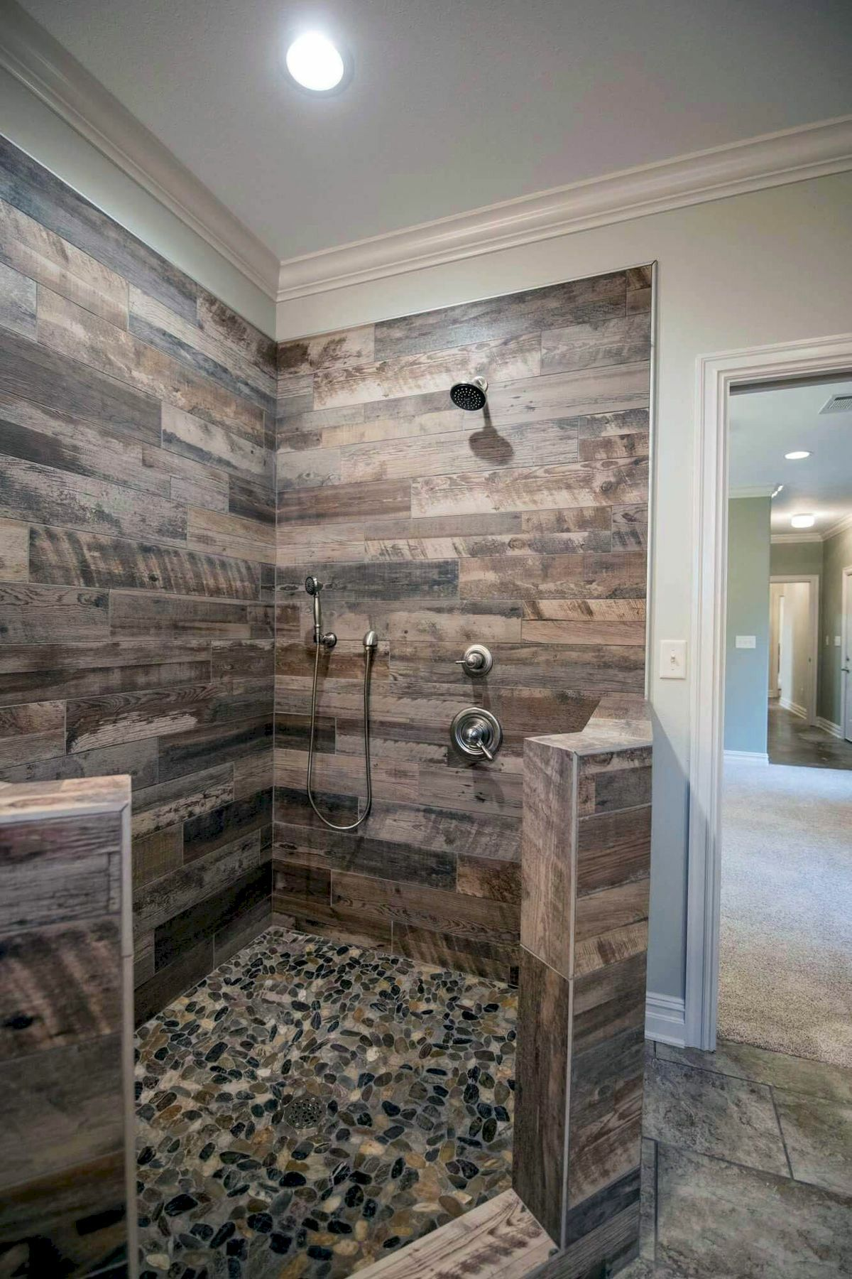 50 Cool Shower Design Ideas For Your Bathroom Rustic Master Bathroom Rustic Bathroom Shower Rustic Bathrooms