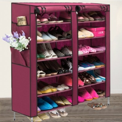Get Your Portable Shoe Rack Shelf Storage Today Very Limited Stock Available They Will Sell Out Soon With Easy To Access 4 Pocket E Shoe Rack Closet Closet Shoe Storage Closet Storage