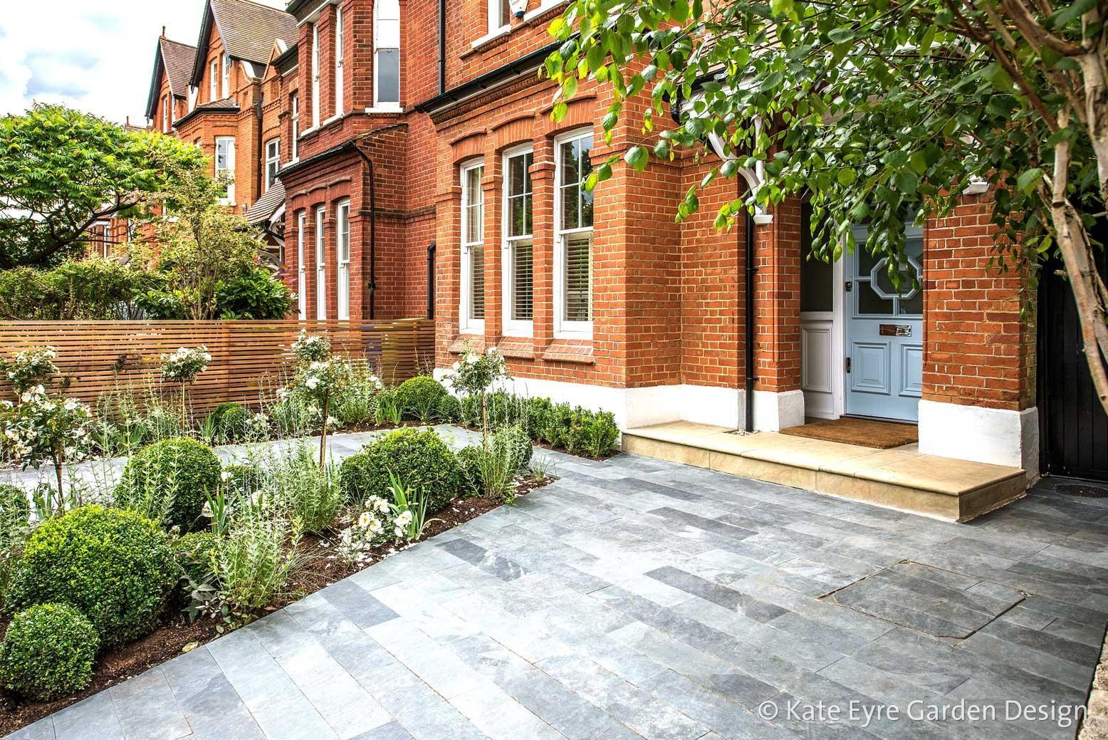 Front garden design in Calton Avenue London 3 Front garden