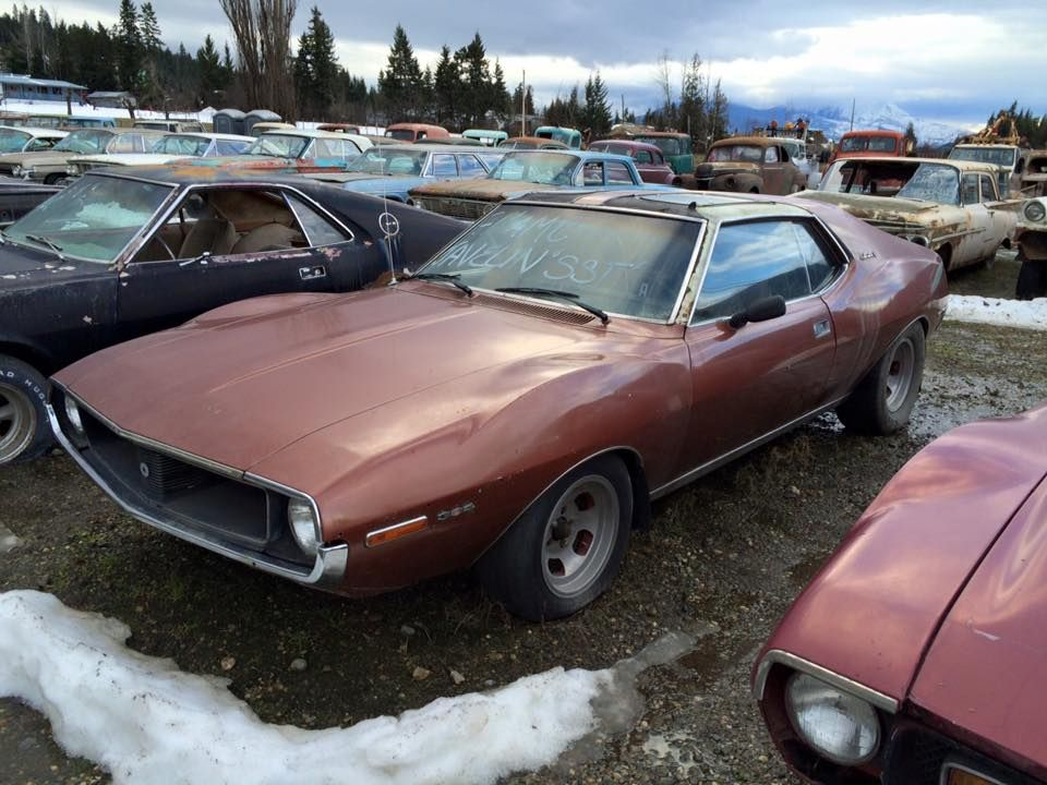 Scrap Diamonds Yards Ghosts Abandoned Cars Rust Barn Finds