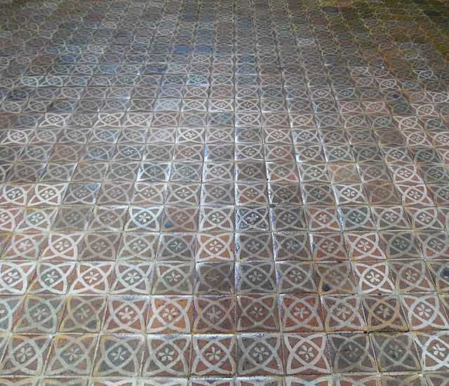 Medieval Floor Tiles Winchester Cathedral Medieval Tiles