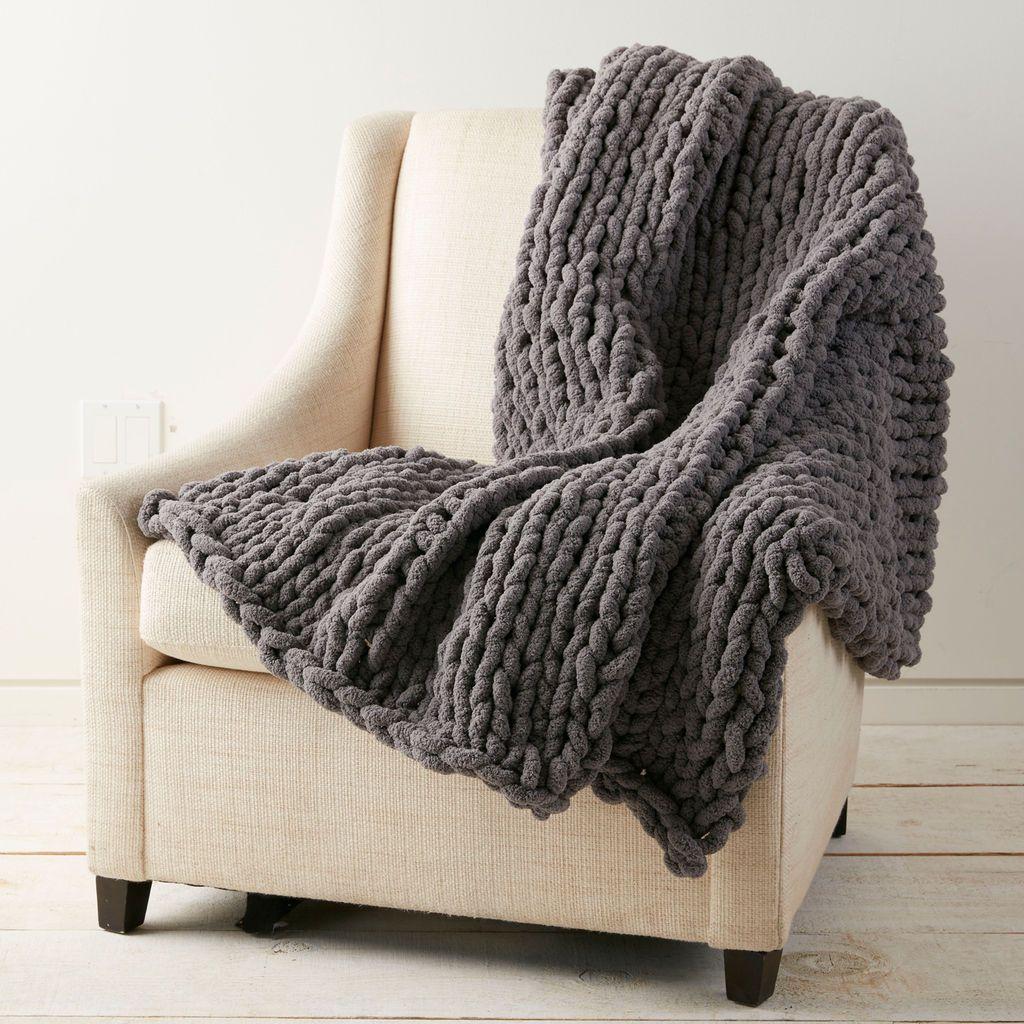 Loops & Threads® Jumbo Wood Knitting Needles Big yarn