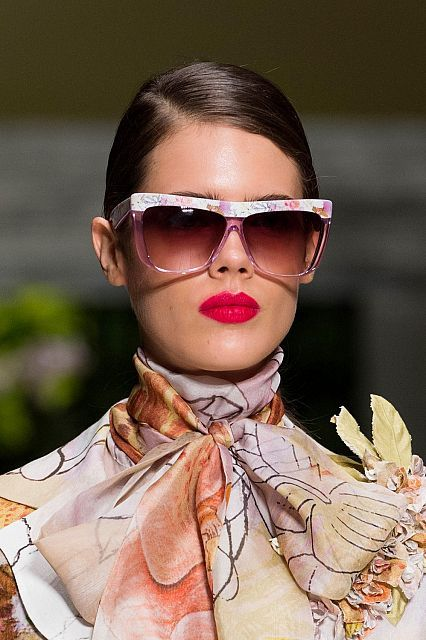 Spring 2016 Eyewear Trends: flashy floral sunglasses #NationwideVision