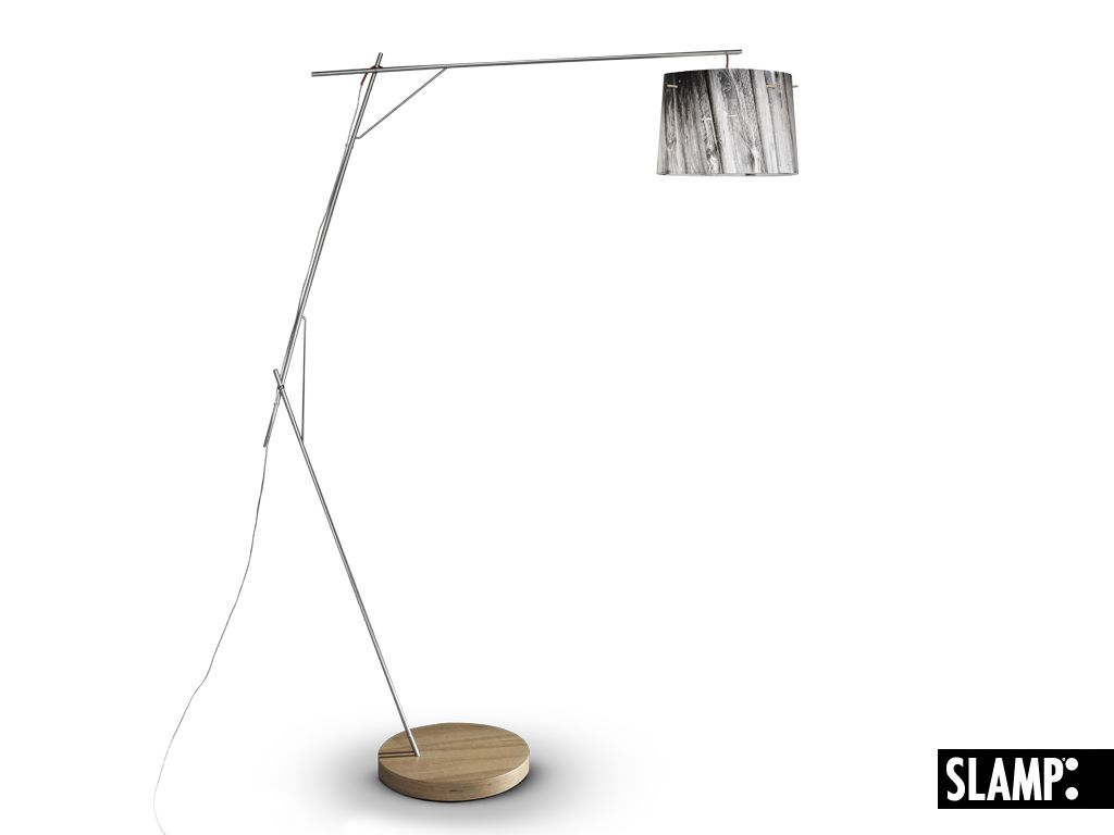 SLAMP - Lampada da Terra - Woody