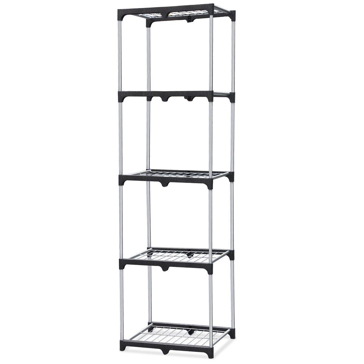 Yaheetech 5 Tier Metal Wire Shelf Storage Kitchen Home