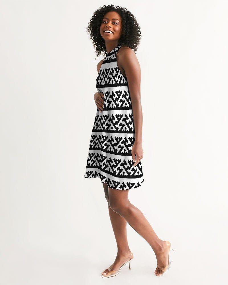 Halter Dress Casual Summer Dress Sundress Loose Fit Dress Etsy Casual Summer Dresses Loose Fitting Dresses Summer Dresses [ 1000 x 800 Pixel ]