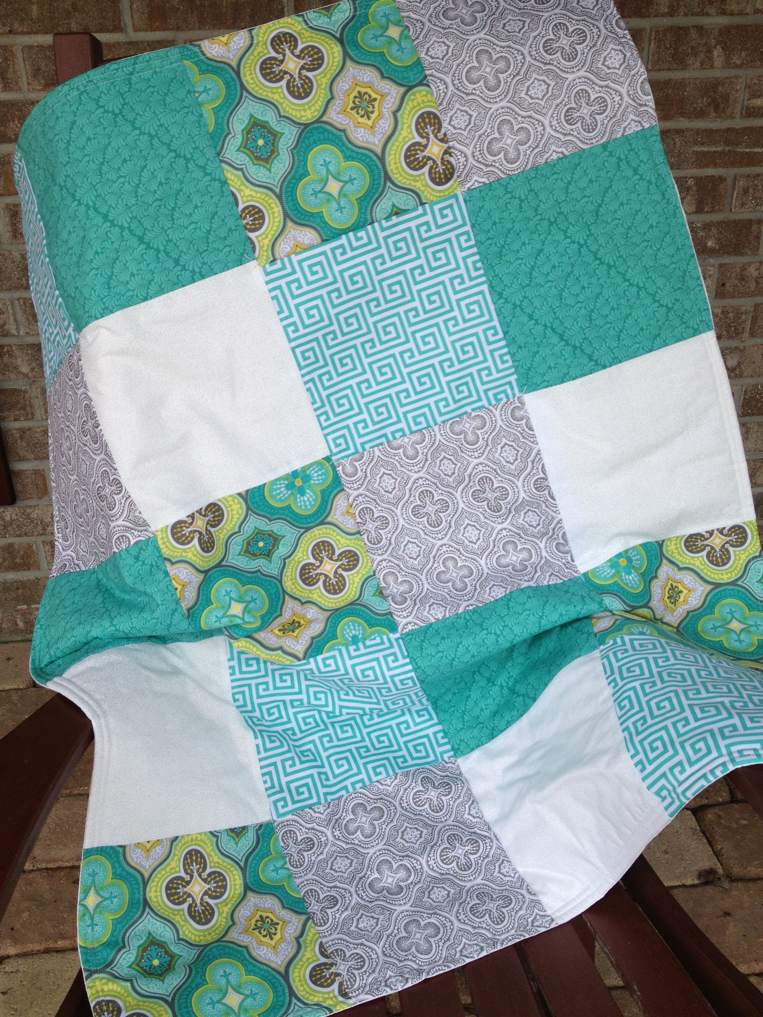 Baby cole quilted blanket by appliqué shabby sew monette now that