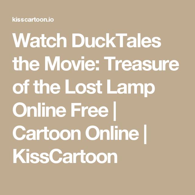 ducktales the movie treasure of the lost lamp kisscartoon