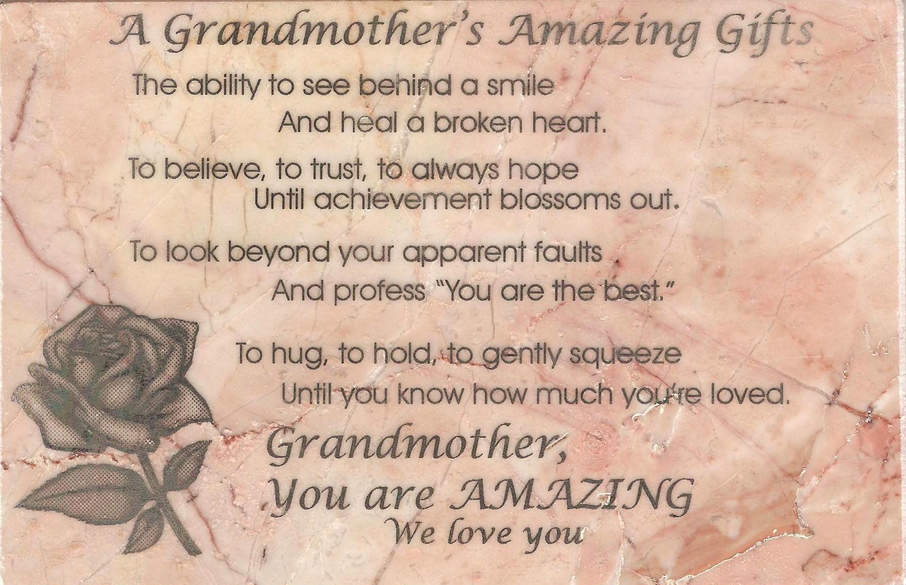 Poem for Grandma Birthday Beautiful Quotes About Amazing