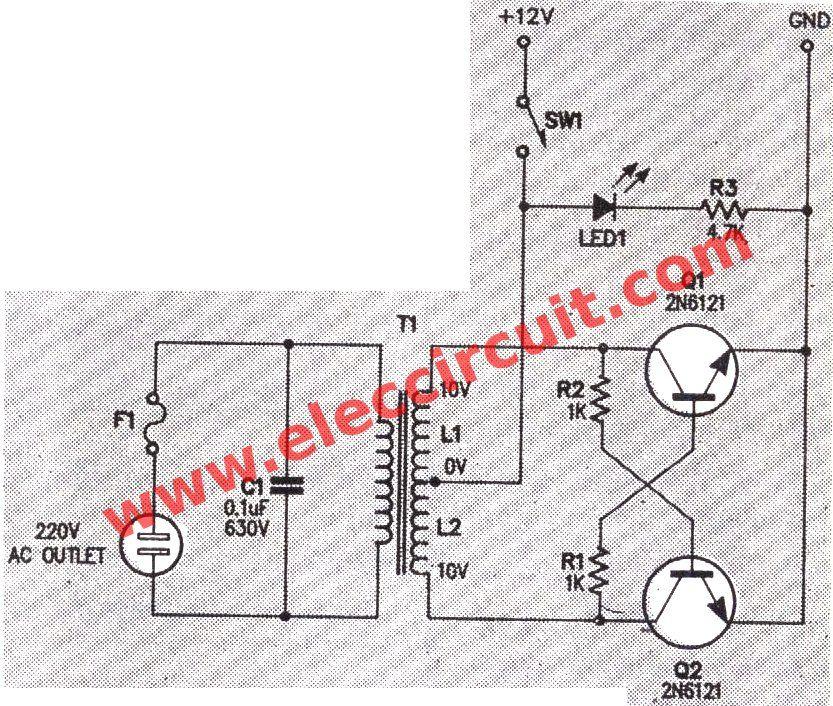 micro inverter circuit diagram jpg 833 706 schema converter 12v rh pinterest com Microinverters Solar Wiring-Diagram micro inverter circuit diagram