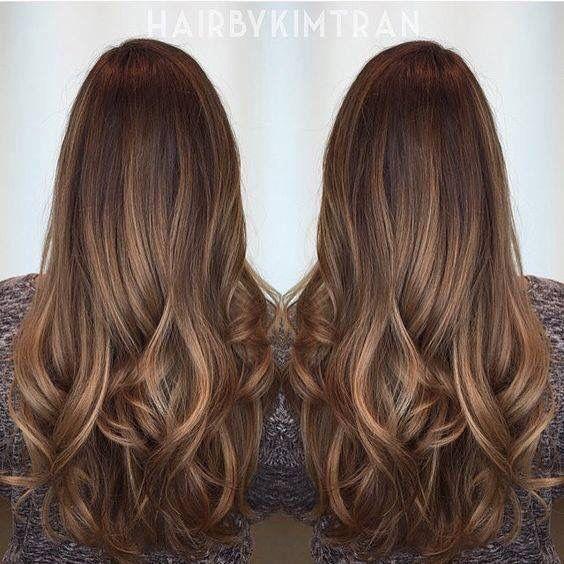 Tintes de cabello color caramelo para morenas - Mu