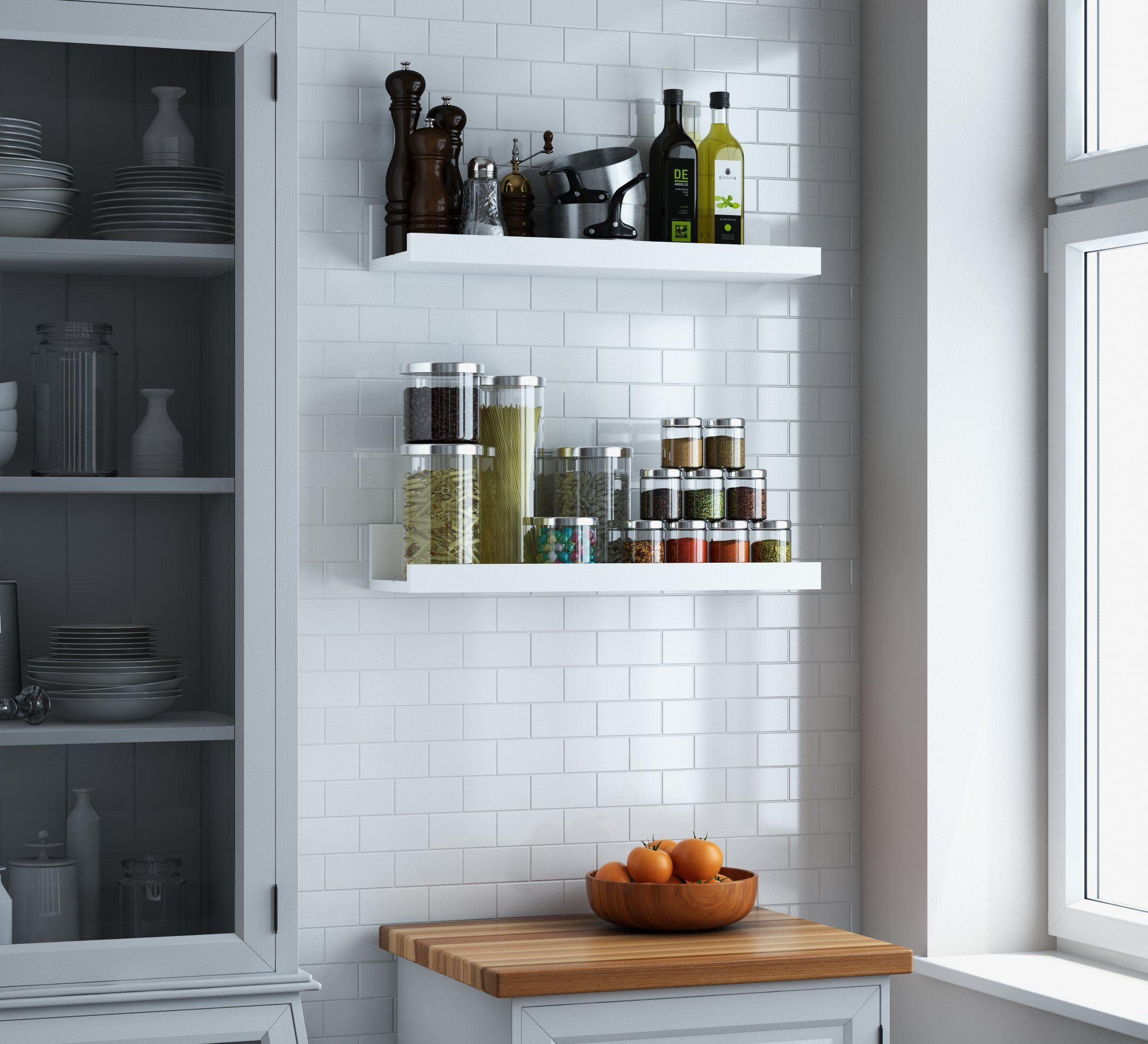 white bookcase home ca tall amazon kitchen bookcases kaycl hawthorn dp frost inch sonax