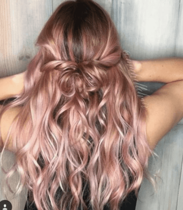 30 Best Rose Gold Hair Ideas
