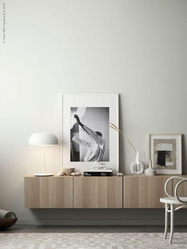 TDC An Ikea Classic Two Ways _SIDEBOARDS Pinterest Wohnzimmer   Deko  Wohnzimmer Regal