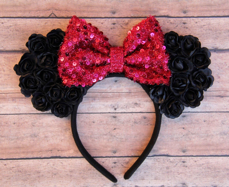 flower minnie ears  floral mickey ears  flower mickey ears  disney ears u2026