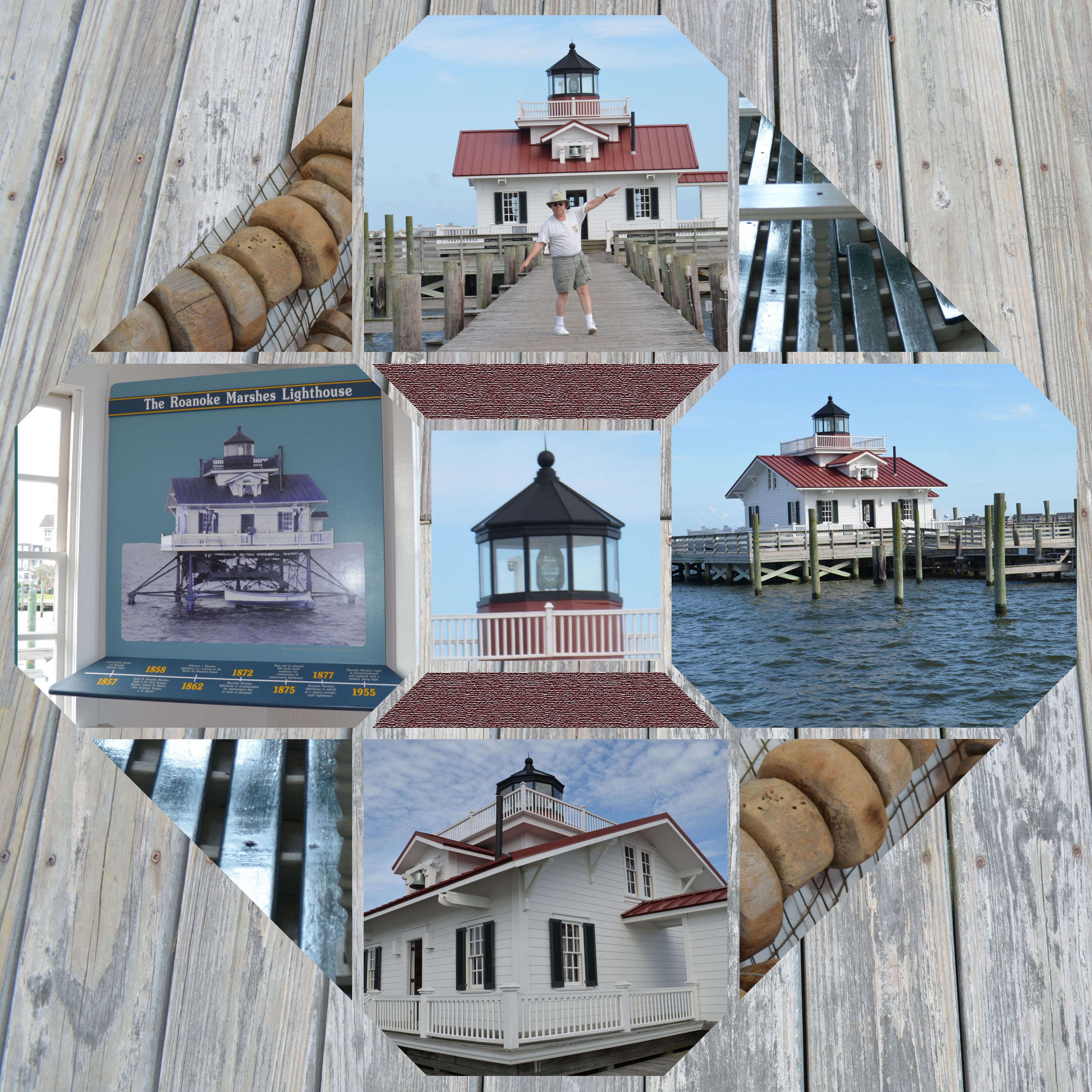 Marshes Lighthouse Manteo NC layout by Sandra B King using Lea France Digital Stained Glass