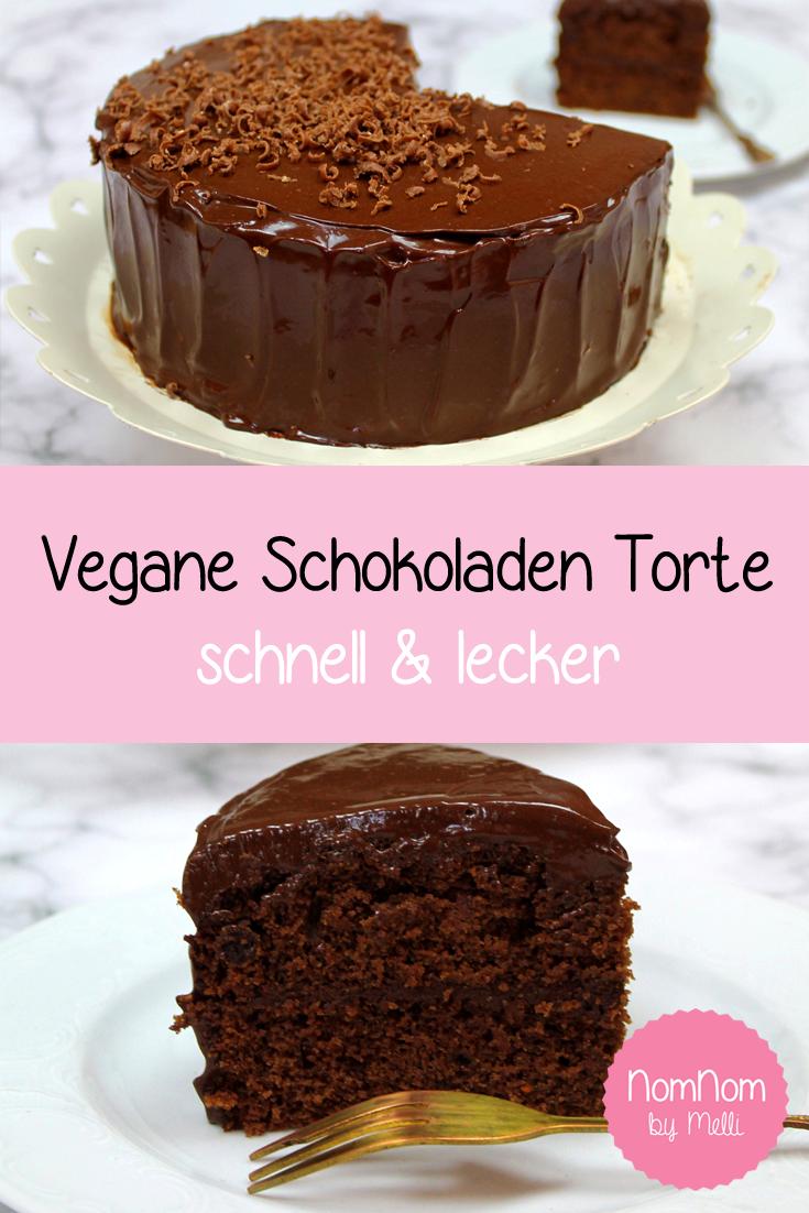 Vegane Schokoladentorte – Vegan und lecker