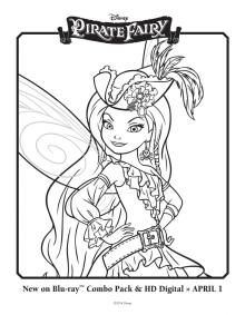 The Pirate Fairy Free Printables Activities and Downloads ...