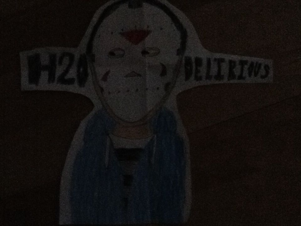 I made this picture of h20 delirious by being inspired by his videos.