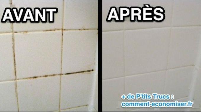 Comment Nettoyer les Joints de Carrelage avec un Nettoyant Maison - comment nettoyer les joints de carrelage de salle de bain