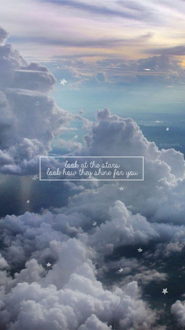 Wallpaper Lockscreen Sky Of Stars Coldplay (lyrics) | w a ll p a p e r s | Hintergründe ...