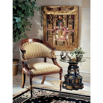 Egyptian Revival Chair Was: $649.00           Now: $599.00
