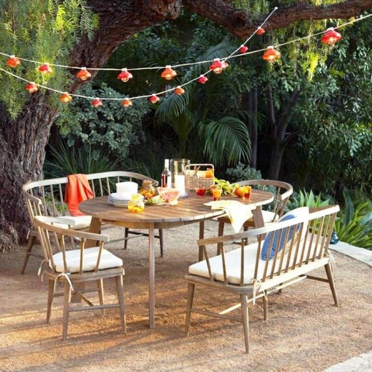 35 Exciting Outdoor Dining Furniture And Decor Ideas