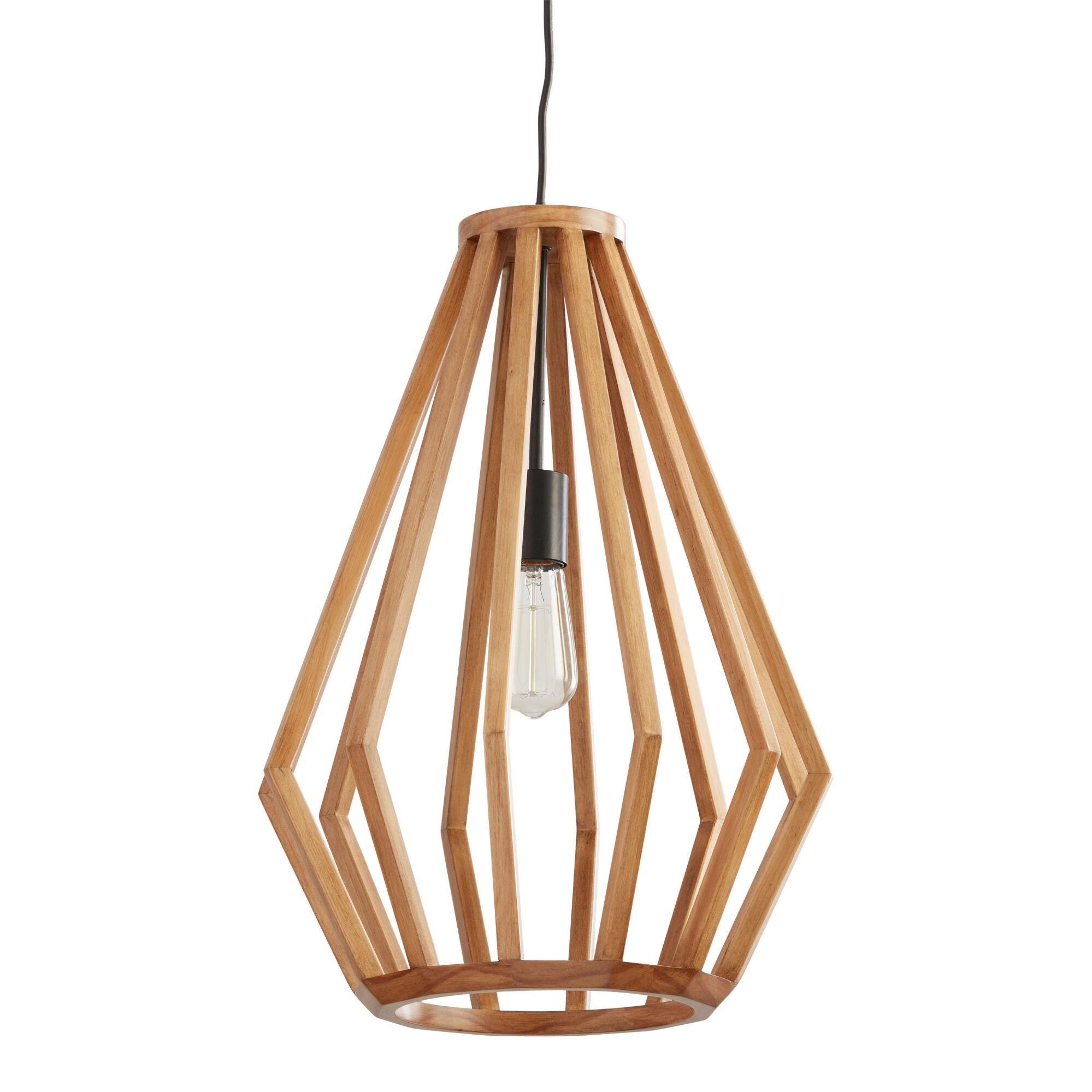 Wooden Pendant Light In 2020 Wooden Pendant Lighting Pendant Lamp Wood Pendant Lamps