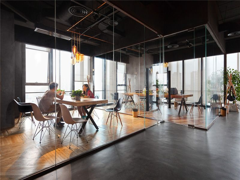 Modern Office Ignores Stereotypes In Favor Of An Original Design
