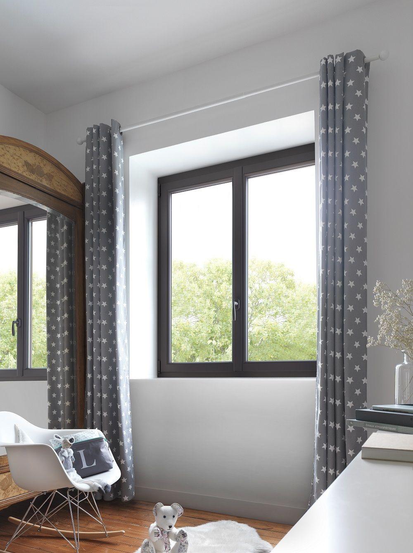fen tre en pvc collection carlis j en noir elle apporte. Black Bedroom Furniture Sets. Home Design Ideas