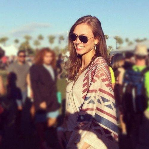 Karlie at Coachella