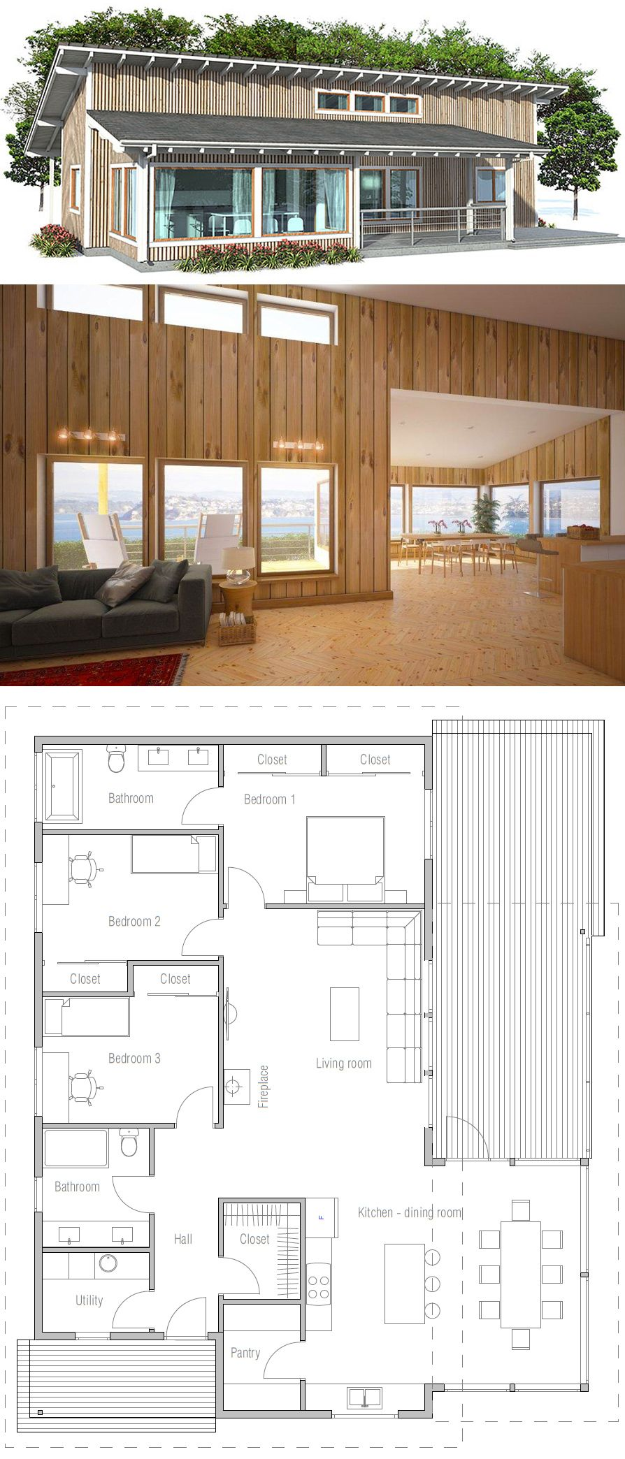 mnur - Small House Plan | villa plan | Pinterest | Grundrisse ...