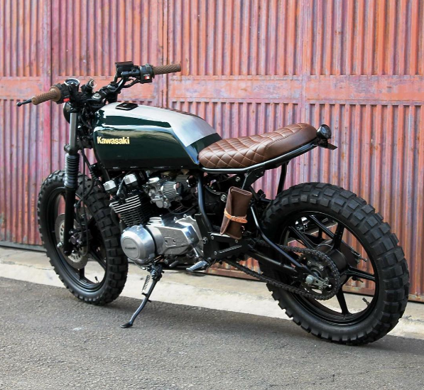 Rankxerox Motorcycledreams Climber Kawasaki Z550 F Built By Bullittgarage