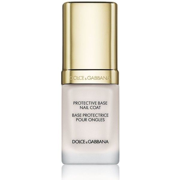 Dolce & Gabbana 'The Nail Lacquer' Liquid Base Coat/0.33 oz. ($27) ❤ liked on Polyvore featuring beauty products, nail care, nail polish and apparel & accessories