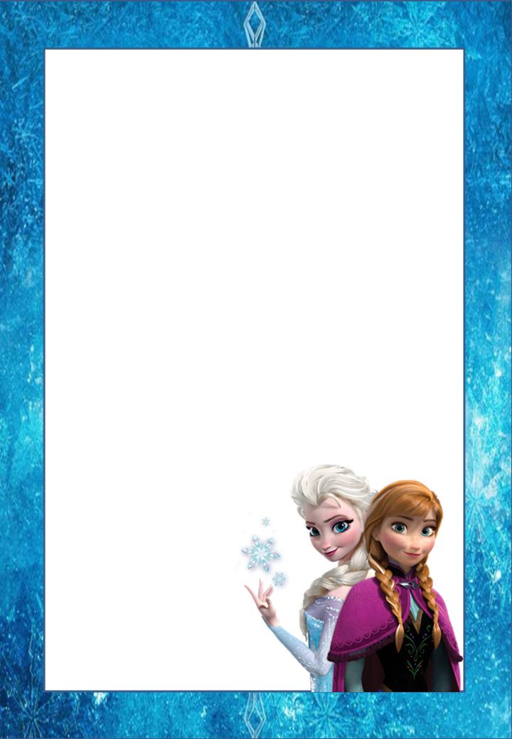 Pin De Hyk En Party Ideas Frozen Invitaciones De Frozen