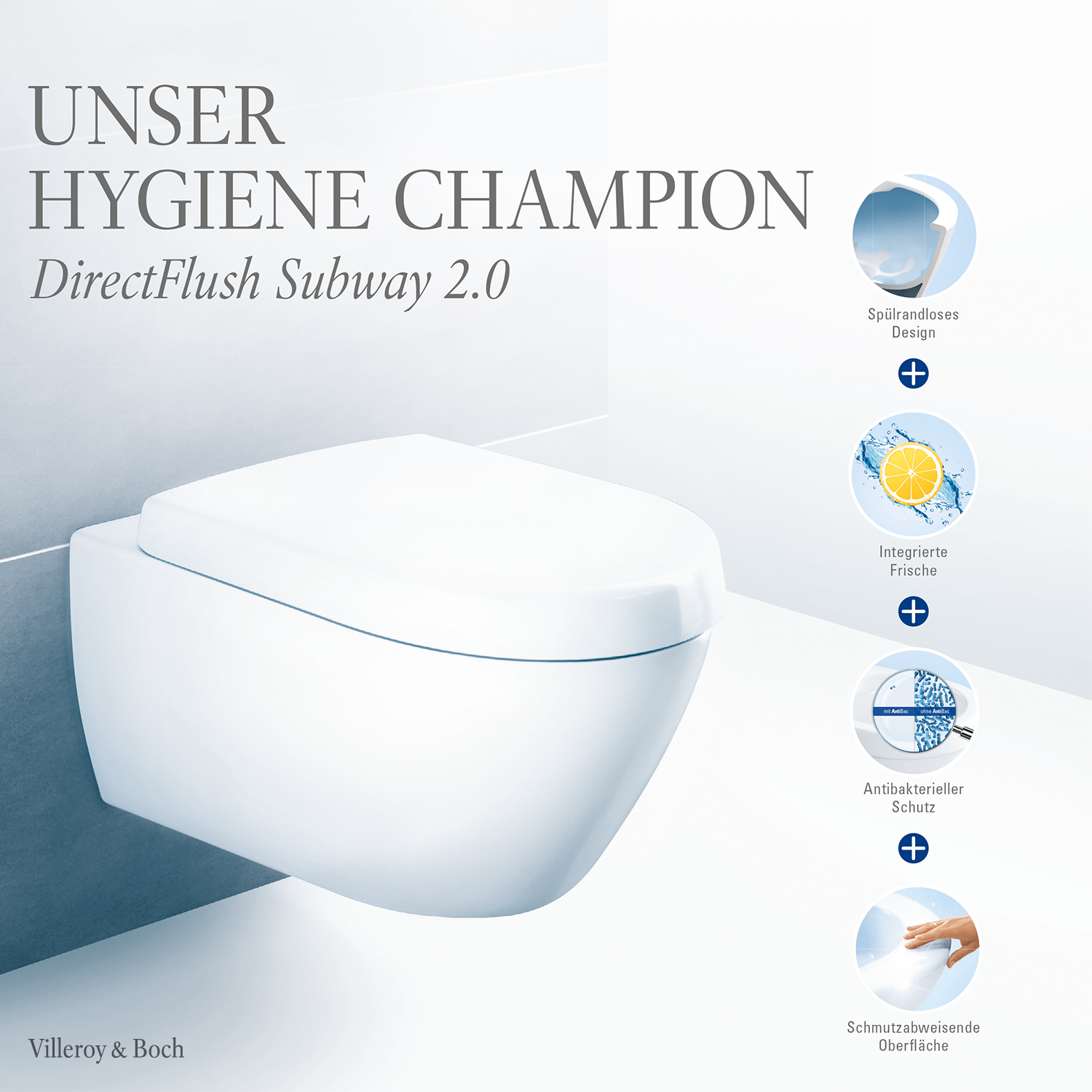 This Toilet Is A Hygienic Champion In 2020 Badezimmer Klo Subway 2 0