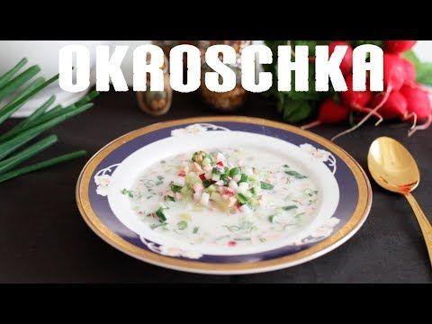 russische kalte Suppe Okroschka ☆ Окрошка / vegan / веган