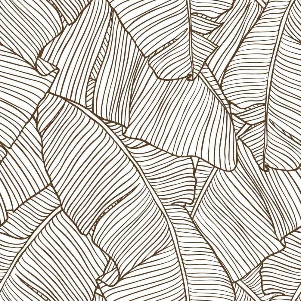 Moses Wallpaper Leaf Wallpaper Temporary Wallpaper Tropical Wallpaper