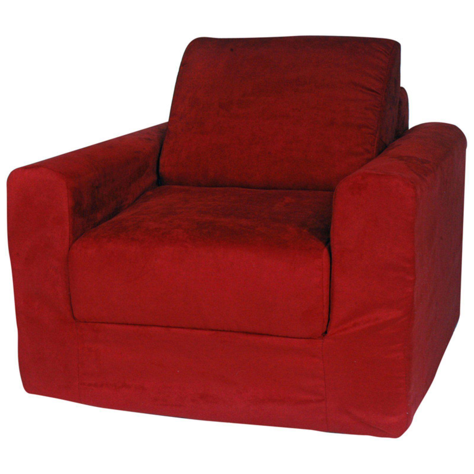 Fun Furnishings Micro Suede Kids Chair Sleeper Blue in 2019 ...