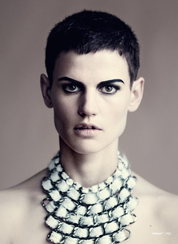 'White Queen' © by Paolo Roversi for Wallpaper Magazine (fashion model Saskia de Brauw)