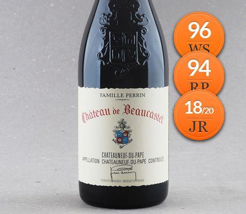Indiscutível: Château de Beaucastel Chateauneuf-du-Pape Famille Perrin #vinho #chateauneufdupape #perrin #robertparker #winespectator