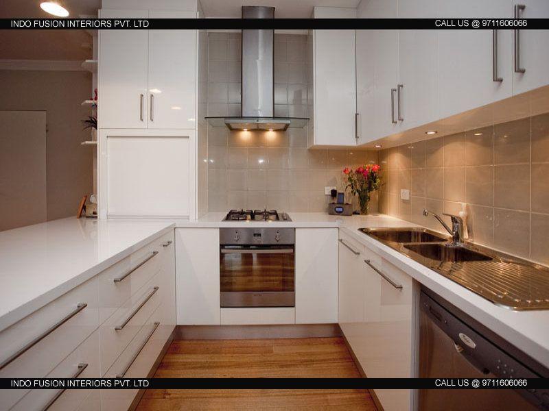 Luxury Modular Kitchen Design in Delhi | Small modern ...