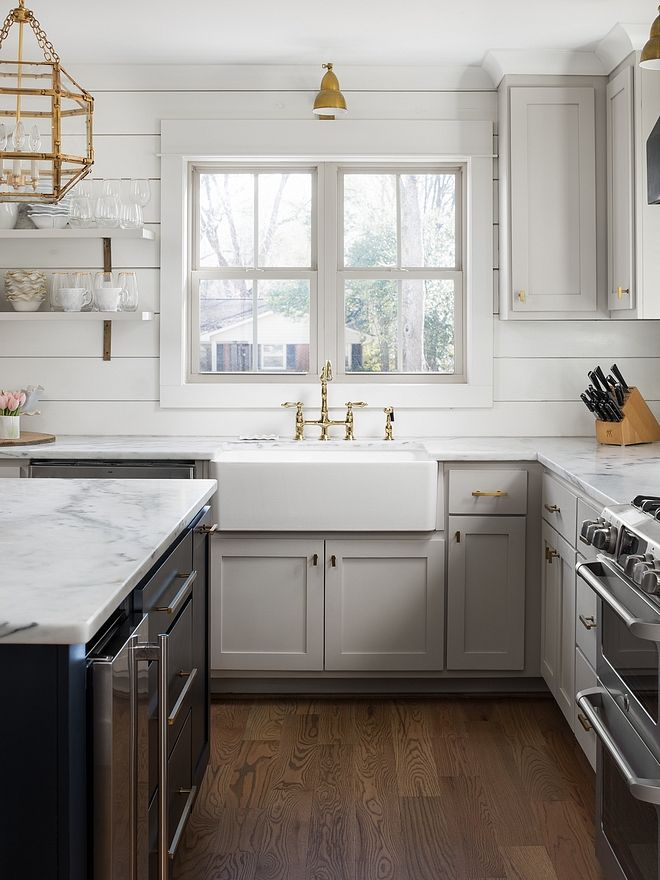 Revere Pewter By Benjamin Moore Kitchen Cabinet Revere