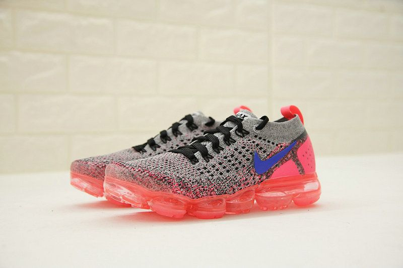 Womens New Nike Air VaporMax 2 Hot Punch Ultramarine Grey Black Pink  942843-104 c562c2bad