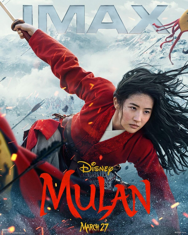 Mulan 2020 Films Complets Gratuits Affiche De Film Mulan