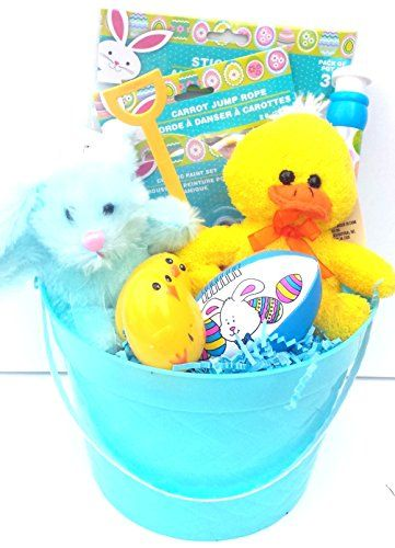 Easter gift basket blue 10 pc private label httpamazon easter gift basket blue 10 pc private label http negle Images