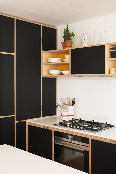 Bespoke Maple Plywood Kitchen by Uncommon Projects stan - muebles para cocina de madera