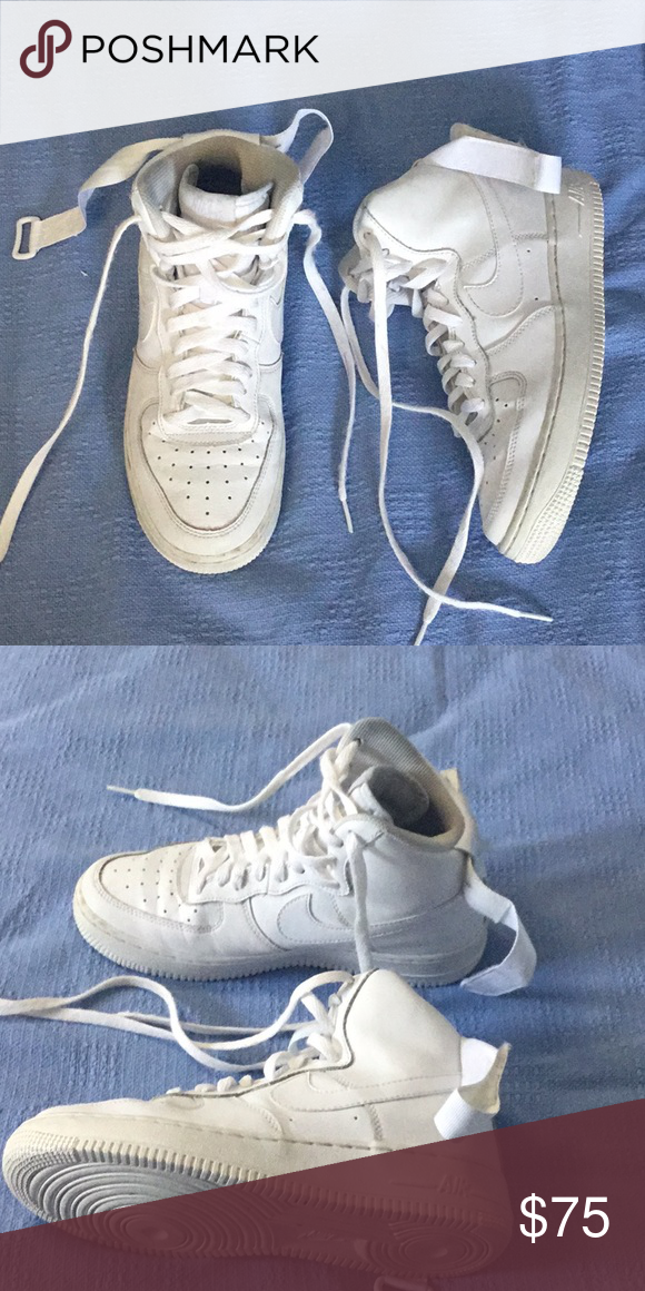Nike Air Force ones high top *high tops