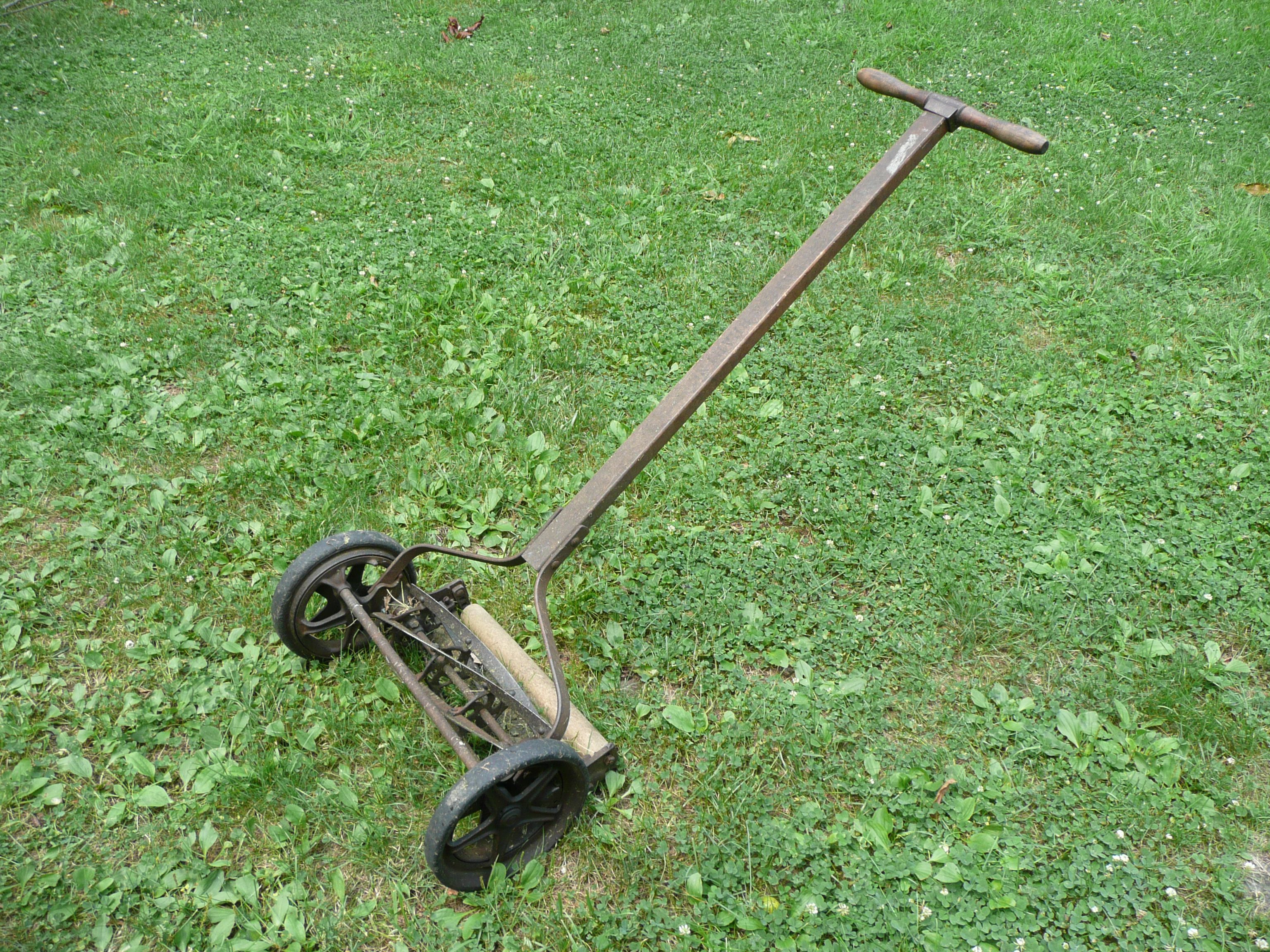 Mowed yards with one like this
